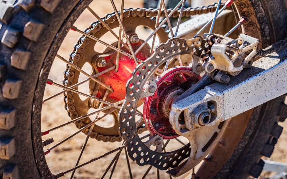 dirt back rear brake system